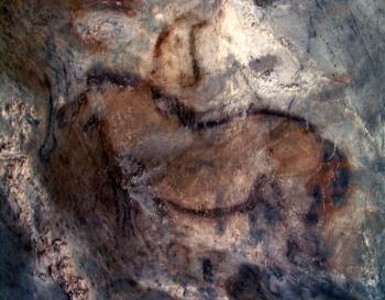 Caballo del Camarín de Candamo. © Texnai. Principado de Asturias, Consejería de Cultura
