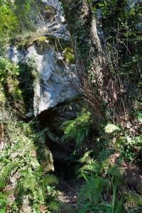 Entrada prehistórica de Tito Bustillo. © Miguel de Guzmán. Principado de Asturias, Consejería de Cultura