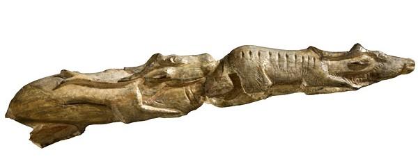 Escultura de renos procedente del abrigo de Montastruc. © British Museum