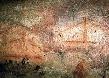 Tectiformes de la cueva de Font-de-Gaume