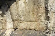 Vista del sector derecho del conjunto rupestre de Peña Tú. © Francisco Valle Poo